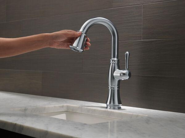 Single Handle Pull-Down Bar / Prep Faucet, image 7