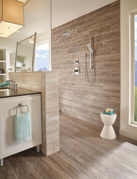 H<sub>2</sub>Okinetic® 4-Setting Slide Bar Hand Shower, image 3