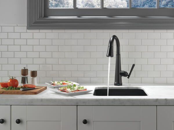 Single Handle Pull Down Bar/Prep Faucet with Touch2O Technology, image 13