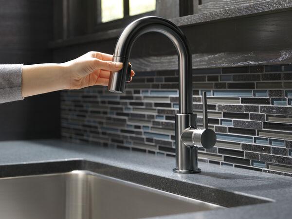 Single Handle Pull-Down Bar/Prep Faucet, image 8