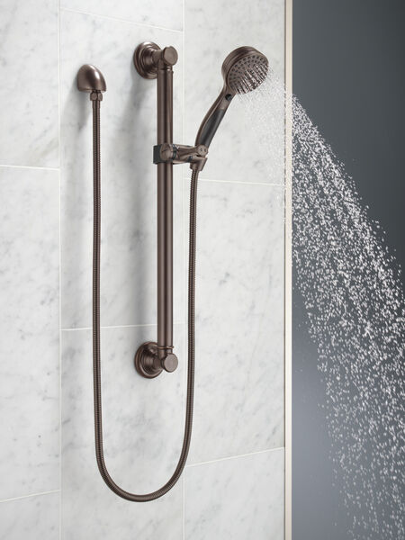 ActivTouch® 9-Setting Hand Shower with Traditional Slide Bar / Grab Bar, image 4