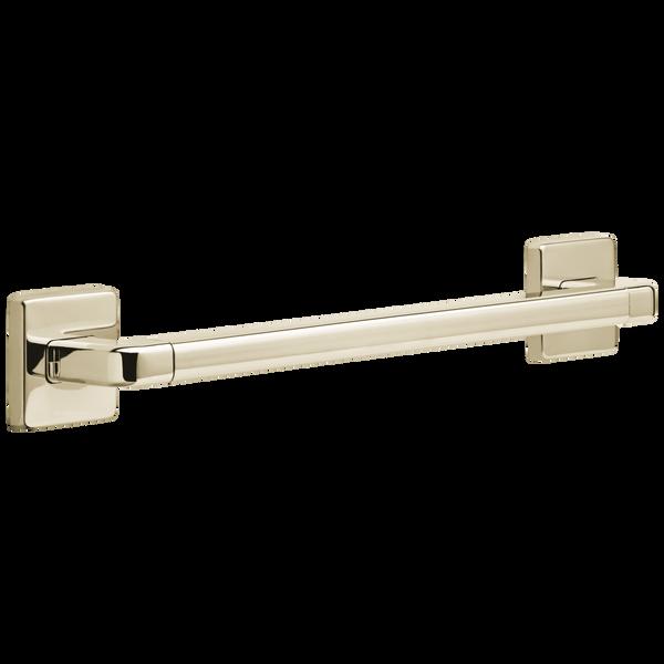 "18"" Angular Modern Decorative ADA Grab Bar, image 1"
