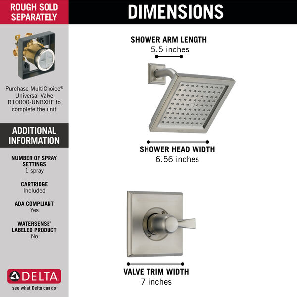 Monitor® 14 Series Shower Trim, image 4