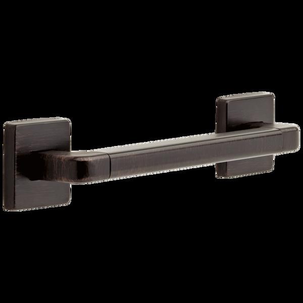 "12"" Angular Modern Decorative ADA Grab Bar, image 1"