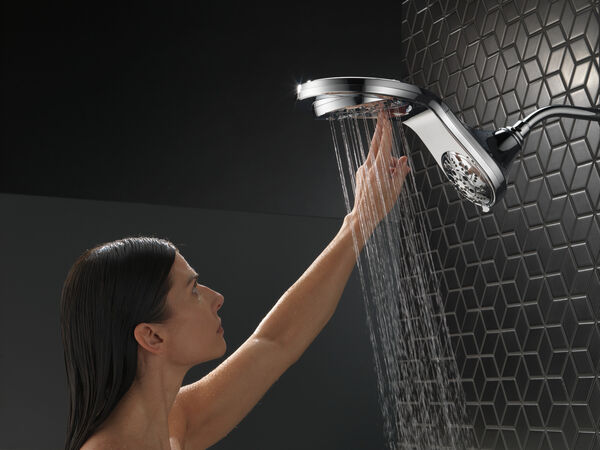 HydroRain® H<sub>2</sub>Okinetic® In2ition® 5-Setting Two-in-One Shower, image 25