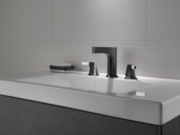 Two Handle Widespread Bathroom Faucet - Less Handles, image 2