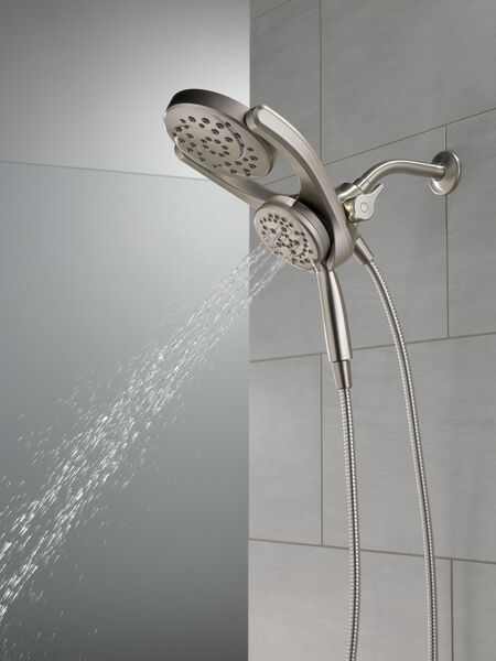 HydroRain® 4-Setting Two-in-One Shower Head, image 18