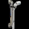 Adjustable Slide Bar / Grab Bar 2-Setting Hand Shower