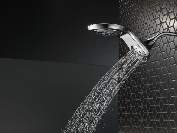 HydroRain® H<sub>2</sub>Okinetic® 5-Setting Two-in-One Shower Head, image 30