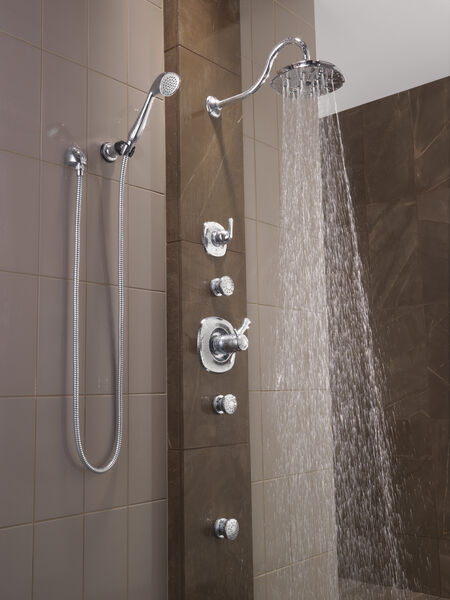 TempAssure® 17T Series H2Okinetic® Shower Trim, image 7
