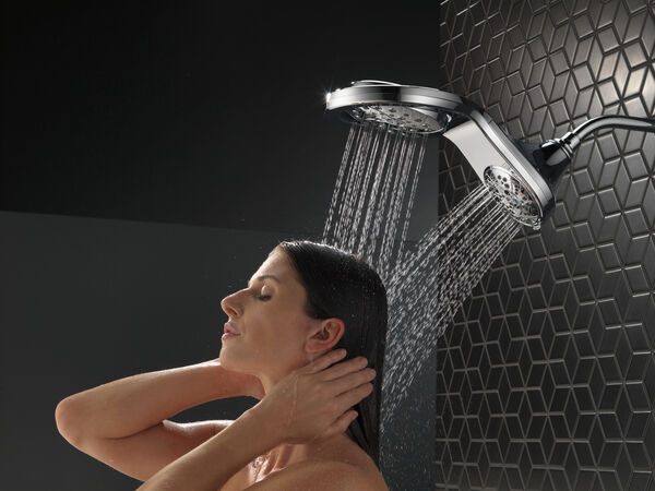 HydroRain® H<sub>2</sub>Okinetic® In2ition® 5-Setting Two-in-One Shower, image 13