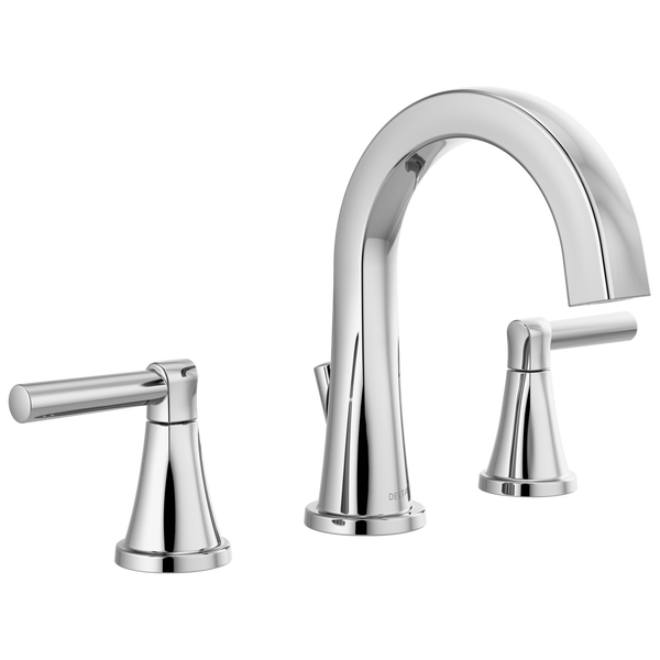 Two Handle Widespread Bathroom Faucet 35891lf Delta Faucet