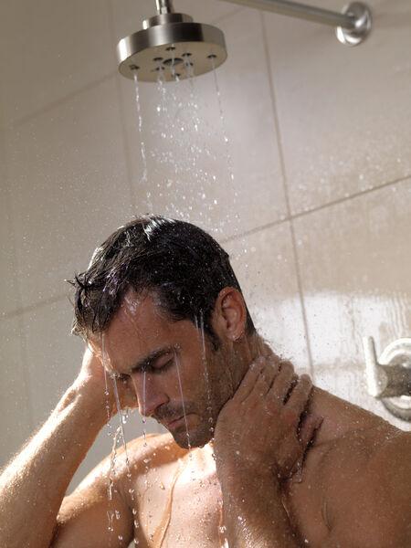 H<sub>2</sub>Okinetic® Single-Setting Raincan Shower Head, image 9