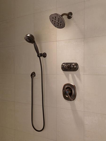 H<sub>2</sub>Okinetic® 5-Setting Adjustable Wall Mount Hand Shower, image 4