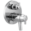 Contemporary Two Handle TempAssure® 17T Series Valve Trim with 3-Setting Integrated Diverter