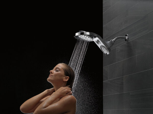 HydroRain® 5-Setting Two-in-One Shower Head, image 4