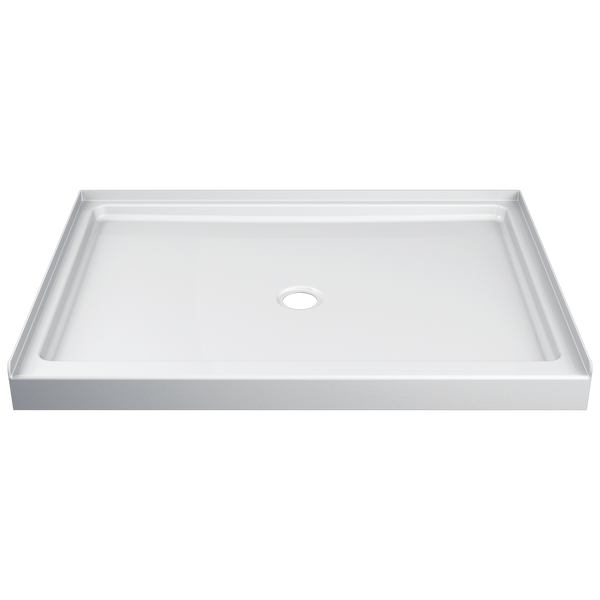 ProCrylic 48 in. x 34 in. Shower Base Center Drain, image 1