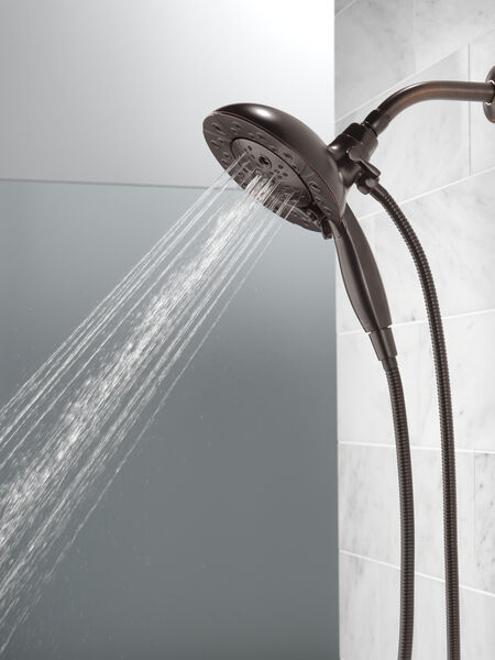 H<sub>2</sub>Okinetic® In2ition® 5-Setting Two-in-One Shower, image 5