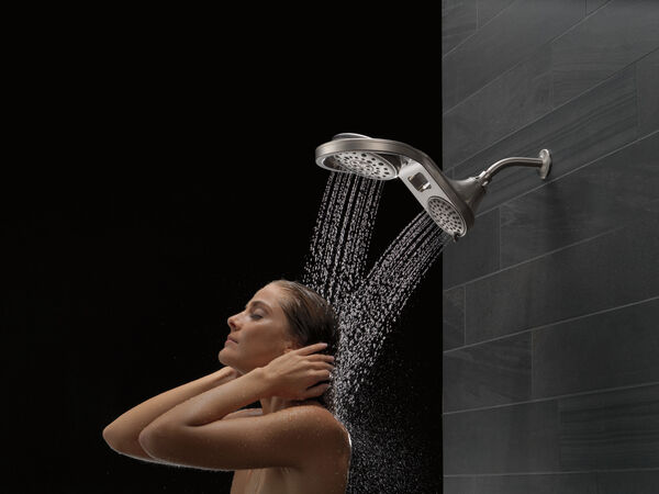 HydroRain® 5-Setting Two-in-One Shower Head, image 10