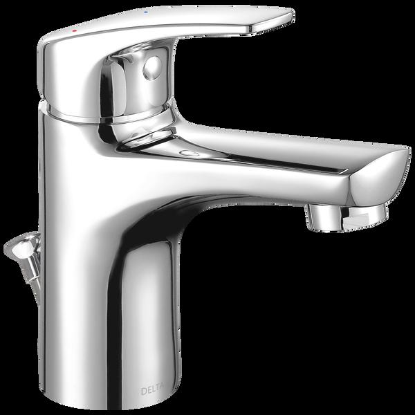 Single Handle Project Pack Faucet- Metal Pop Up, image 1