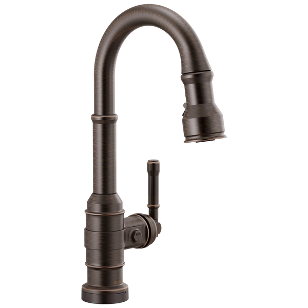 Single Handle Pull-Down Bar/Prep Faucet with Touch2O Technology, image 1