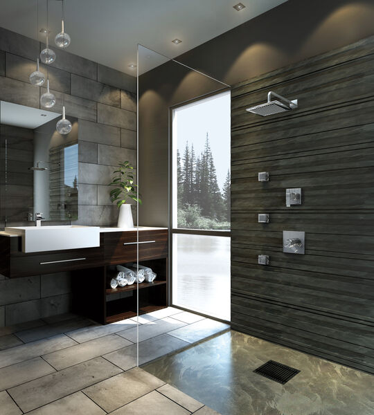 Single Handle Channel Bathroom Faucet, image 9