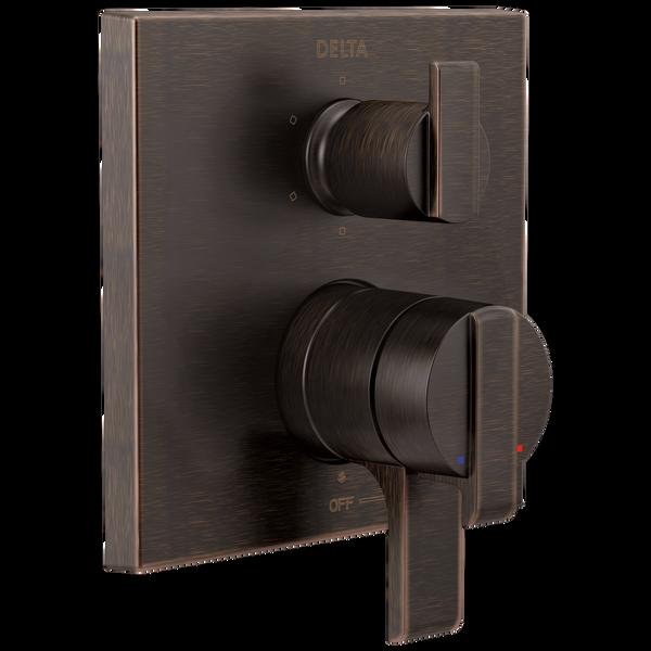 Angular Modern Monitor® 17 Series Valve Trim with 6-Setting Integrated Diverter, image 1