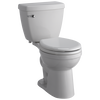 Round Front Toilet With Night Light Seat