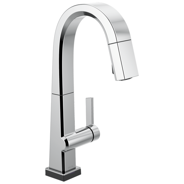 Single Handle Pull Down Bar/Prep Faucet With Touch<sub>2</sub>O Technology, image 1