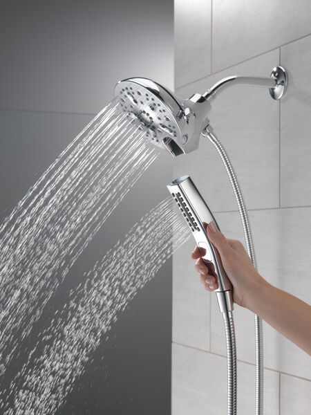 In2ition® H<sub>2</sub>Okinetic® 5-Setting Two-in-One Shower, image 8