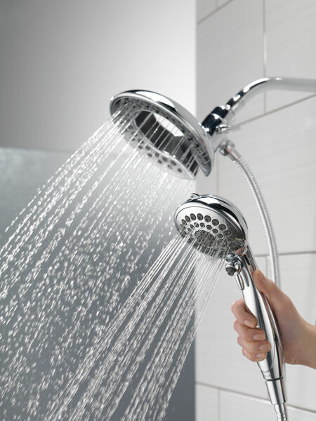 In2ition® 5-Setting Two-in-One Shower, image 5