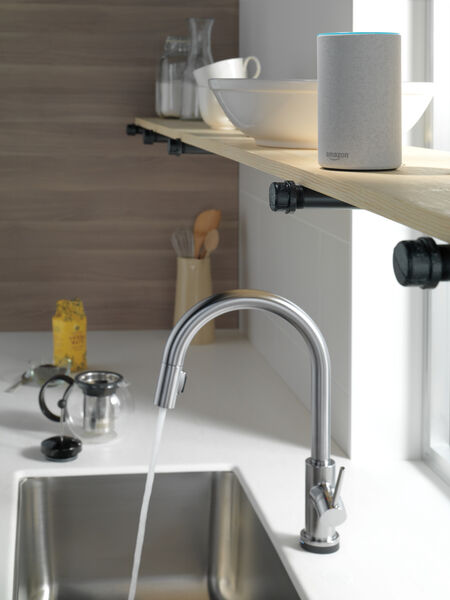 VoiceIQ™ Single-Handle Pull-Down Kitchen Faucet with Touch<sub>2</sub>O® Technology, image 22