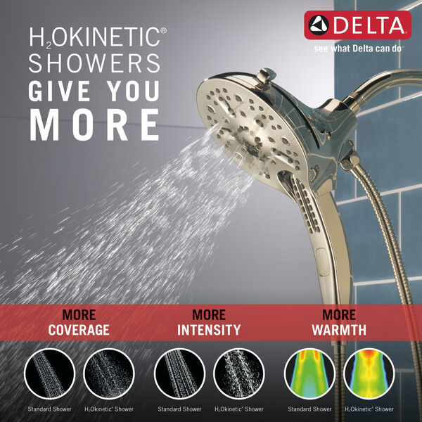 In2ition® H<sub>2</sub>Okinetic® 5-Setting Two-in-One Shower, image 2