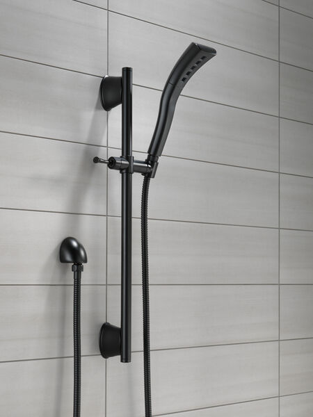 Single-Setting H2Okinetic Slide Bar Hand Shower, image 4