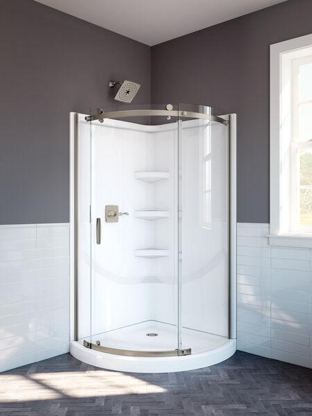 38'' Direct-to-Stud Corner Shower Wall Set, image 4
