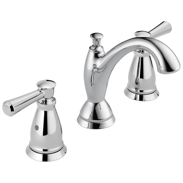 Traditional Two Handle Widespread Bathroom Faucet, image 1