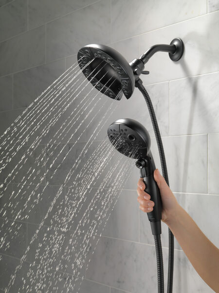 H<sub>2</sub>Okinetic® In2ition® 5-Setting Two-in-One Shower, image 9