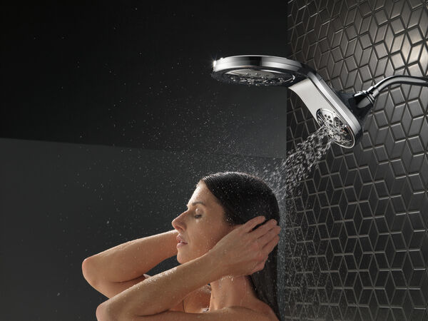 HydroRain® H<sub>2</sub>Okinetic® In2ition® 5-Setting Two-in-One Shower, image 22