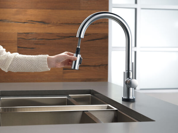 VoiceIQ™ Single-Handle Pull-Down Kitchen Faucet with Touch<sub>2</sub>O® Technology, image 26