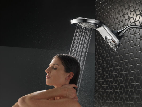 HydroRain® H<sub>2</sub>Okinetic® In2ition® 5-Setting Two-in-One Shower, image 7