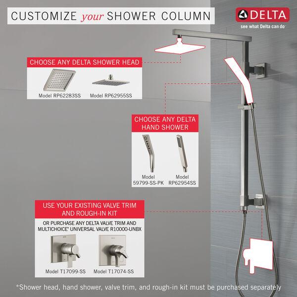"Shower Column 26"" Angular, image 2"