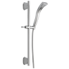 H<sub>2</sub>Okinetic® Single-Setting Slide Bar Hand Shower