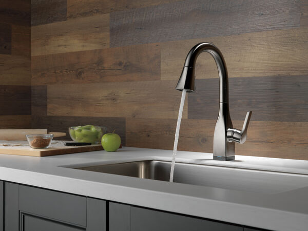 Single Handle Pull-Down Bar/Prep Faucet with Touch, image 8