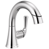Single Handle Pull-Down Bathroom Faucet