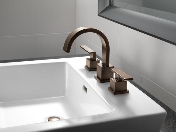 Two Handle Widespread Bathroom Faucet, image 6