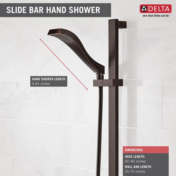 Premium Single-Setting Slide Bar Hand Shower, image 3