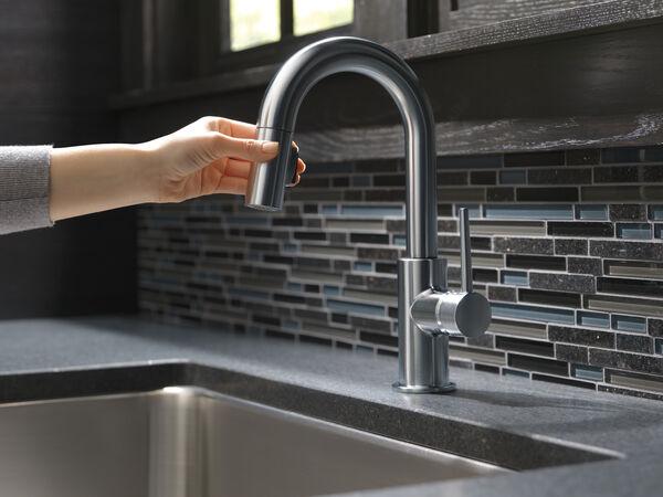 Single Handle Pull-Down Bar / Prep Faucet, image 15