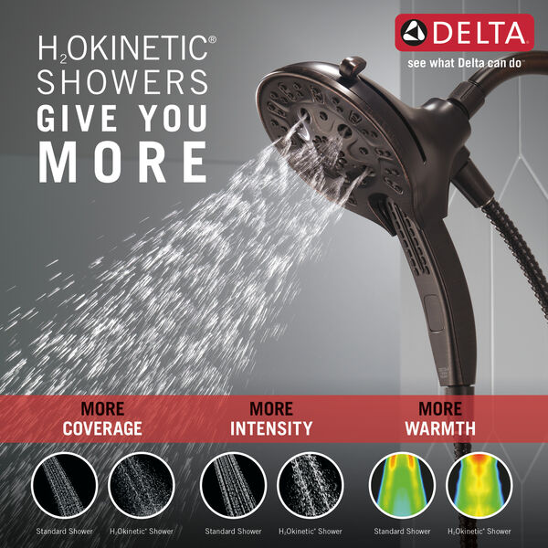 H2Okinetic®In2ition®5-Setting Two-in-One Shower, image 2