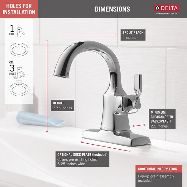 Single Handle Bathroom Faucet 15766lf, Bathroom Faucets Clearance
