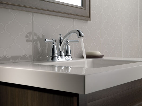 Two Handle Tract-Pack Centerset Bathroom Faucet, image 2